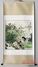 江南水鄉 斗方山水  國畫 字畫 裝飾畫 三尺條幅已裝裱 可直接掛7