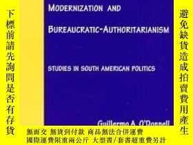 二手書博民逛書店Modernization罕見And Bureaucratic-authoritarianismY307751