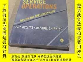 二手書博民逛書店MANAGING罕見SERVICE OPERATIONS(管理