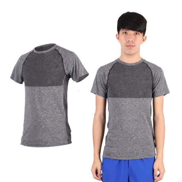 NEW BALANCE 男短袖T恤(慢跑 路跑 休閒 運動 上衣 紐巴倫 NB 免運≡排汗專家≡