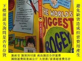 二手書博民逛書店the罕見world s biggest bogey 世界上最大的妖怪.Y200392