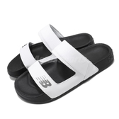 New Balance 涼拖鞋 NB 202 白 黑 女鞋 涼鞋 基本款 【ACS】 SWF202DWB