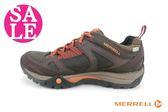 MERRELL女運動鞋 AZURA LAPIS WATERPROOF ML32336真皮登山健行鞋F8379#咖啡 零碼出清
