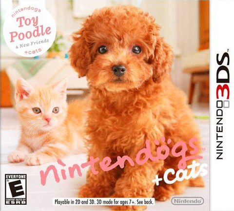 3DS Nintendogs + Cats: Toy Poodle and New Friends 任天狗+貓 貴賓犬與新夥伴(美版代購)