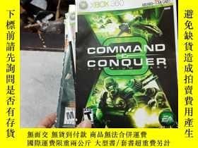二手書博民逛書店遊戲光盤罕見XBOX 360 COMMAND CONQUER(