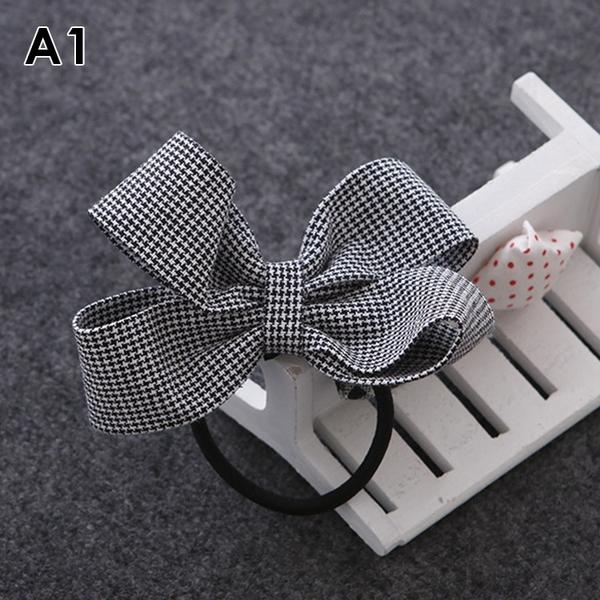 [現貨] 韓國復古布藝立體蝴蝶結髮束 ACE0001 綁頭髮 髮圈 髮飾