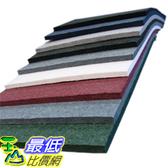 吸音泡棉 Echo Eliminator Acoustical Absorbing Material 2 Inch 3lb 7Panels (56) SF Per Box (Black)