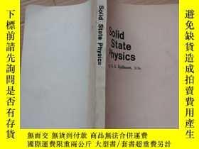 二手書博民逛書店固態物理學罕見譯自俄文 英文版12849 Mir Publish