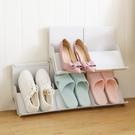創意簡約家用立式鞋架可疊加省空間宿舍鞋子...