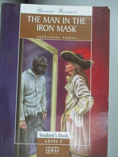 【書寶二手書T9/原文小說_LLS】The man in the iron mask_Alexandre Dumas ;