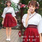 漢服 漢服女改良交領襦裙中國風古裝日常裝學生班校服漢元素古風套裝   琉璃美衣