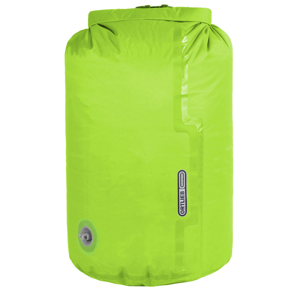 【ORTLIEB】Dry Bag-氣閥設計壓縮防水收納袋 22L『亮綠色』K2223 戶外 登山 露營 溯溪 防水 背包 防水袋