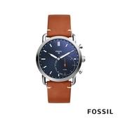 FOSSIL Q COMMUTER 智能錶-藍色 44mm