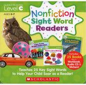 【科普類: 最佳字彙學習書】NONFICTION SIGHT WORD READER: LEVEL C /25書+CD