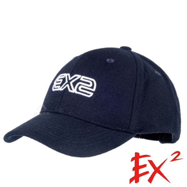 【 EX2 】保暖棒球帽『藏青』364177 戶外.針織帽.造型帽.毛帽.遮陽帽.棒球帽.帽子.禦寒.防寒.保暖