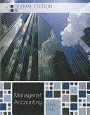 二手書《Managerial Accounting: Creating Value in a Global Business Environment》 R2Y ISBN:9780071220866