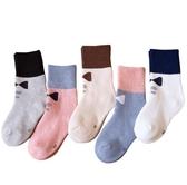 兒童襪子純棉秋冬款寶寶襪加厚加絨毛圈襪男童女童中筒冬天毛巾襪