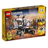 LEGO 樂高 Creator 創意系列 31107 太空探測車 【鯊玩具Toy Shark】