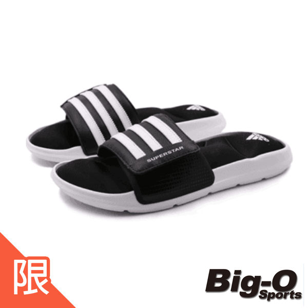 ADIDAS 愛迪達 SUPERSTAR SLIDE   運動拖鞋 AC8325