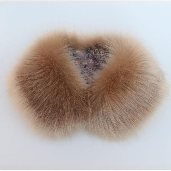 毛領子女仿狐貍假領子女貉子貉子毛領圍巾