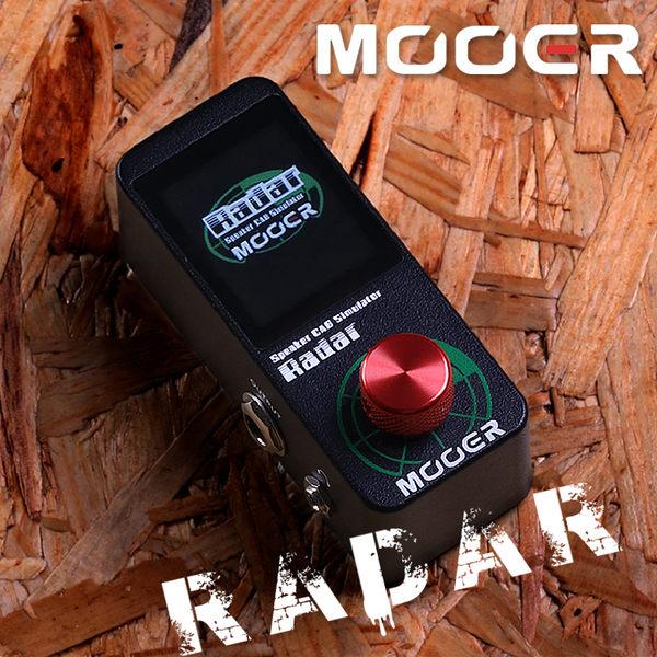 小叮噹的店- MOOER Radar 雷達後級 箱體模擬 CAB 效果器 電吉他效果器 MREG-RA