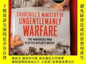 二手書博民逛書店Churchill's罕見ministry of ungentl