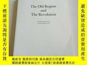 二手書博民逛書店the罕見old regime and the revoluti