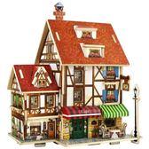 創意韓版diy禮品  手工制作 木質拼接玩具  木質模型  瑪麗蘇