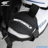 機車掛檔套護鞋膠換擋騎行鞋套防滑檔位桿防護套裝備保護鞋護具