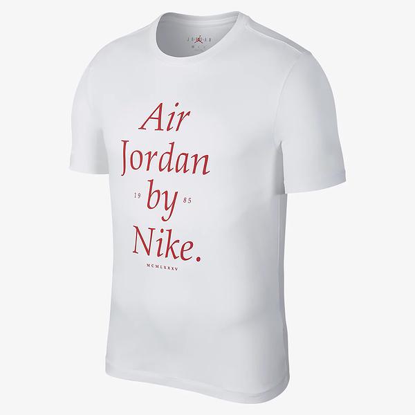 Nike Air Jordan by Nike 男裝 短袖 休閒 純棉 喬丹 白 【運動世界】 AQ3761-100