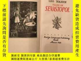 二手書博民逛書店leo罕見tolstoy tales of sevastopol