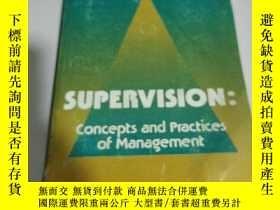 二手書博民逛書店Supervision:Concepts罕見and Practi