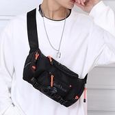 腰包男士潮牌工裝輕便ins風韓版胸包 多功能時尚嘻哈單肩斜挎小包 極簡雜貨