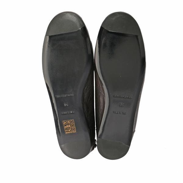 【BALENCIAGA】Classic Moccasin平底娃娃鞋 36號 (展示品)(黑色) BA51010002