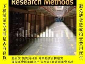 二手書博民逛書店Criminal罕見Justice And Criminology Research Methods-刑事司法與犯