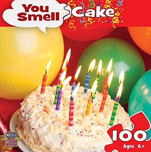[KANGA GAMES] 拼圖 聞香系列 - 生日蛋糕 You Smell - Birthday Cake 100片