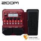 【預購】ZOOM B1X FOUR 電貝斯專用綜合效果器 表情踏板款 原廠公司貨 一年保固【Guitar Effects Pedal】