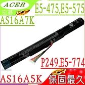 ACER AS16A5K 電池(保固最久)-宏碁 E5-774,F5-573,E5-774G-518Y,E5-475G,F5-573G,F5-573T,TMP249,K50-20,N1602