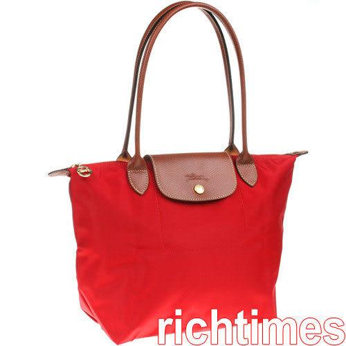 LONGCHAMP水餃小肩背包(紅)LC089801