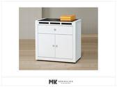 【MK億騰傢俱】ES704-01貝多美白色3尺碗櫥餐櫃下座