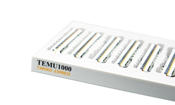鐵支路全新品─TEMU 1000 太魯閣號電聯車套裝(VM3005)