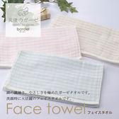 【クロワッサン科羅沙】日本泉州~內無撚天絲橫紋毛巾 33*80cm