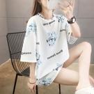 【Charm Beauty】女裝 2021年 夏季 新款 韓版 學生 百搭 中長款 半袖上衣 短袖t恤女