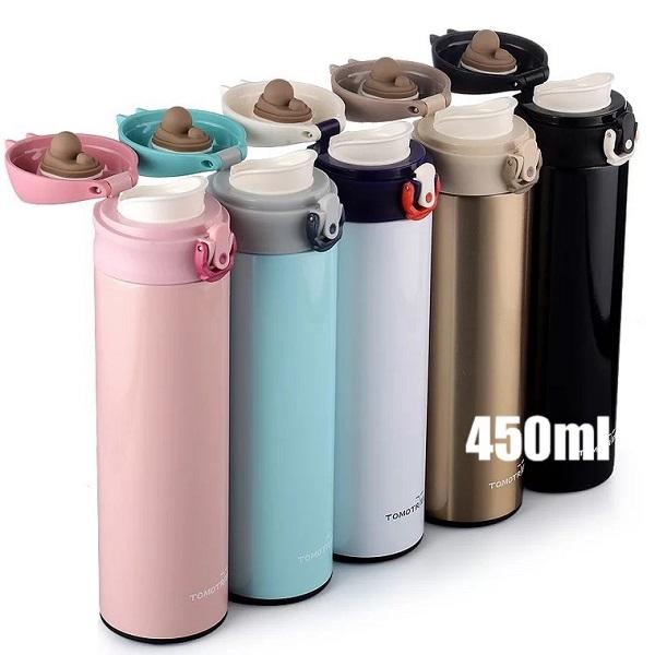 彈跳304不鏽鋼保溫保冷兩用瓶450ml限量促銷價