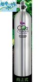 {台中水族} 台灣LE-110  鋁合金CO2鋁瓶-1L(向上式)  特價 二氧化碳 水草缸用