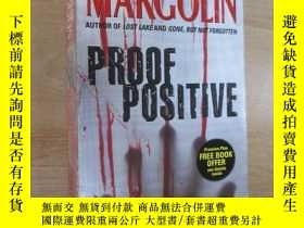 二手書博民逛書店外文書罕見PHILLIP MARGOLIN PROOF POSITIVE(共437頁,32開)Y15969