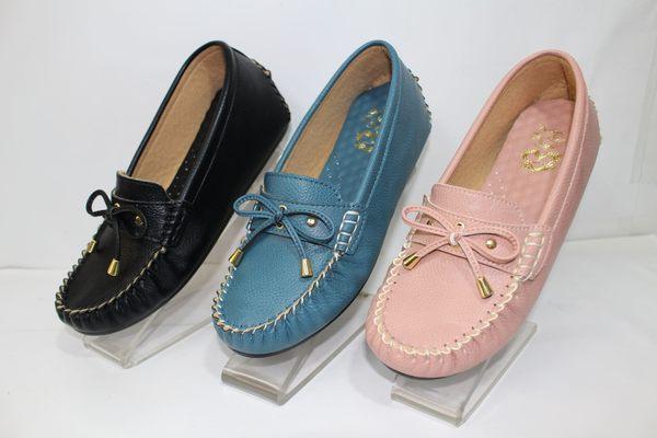 ALICE SHOES艾莉時尚美鞋 請把握!!搶鮮擁有內增高娃娃鞋@3814@豆豆鞋莫卡辛MIT台灣製造