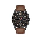 COACH 經典計時紳仕腕錶/黑鋼+皮帶/14602070