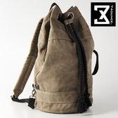 74盎司 後背包 CANVAS系列-個性抽繩拳擊/手拿/後背包 [G-632]