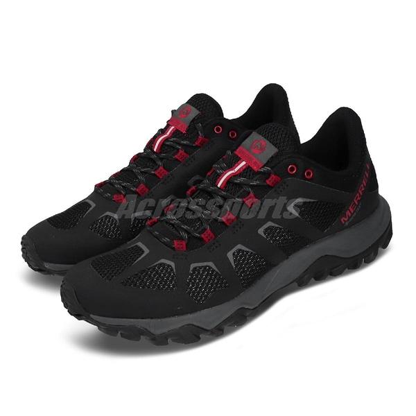 Merrell 戶外鞋 Fiery GTX 黑 紅 灰 Gore-Tex 防水 男鞋 郊山健走 【ACS】 ML16601
